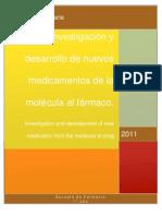 Investigación y desarrollo de  fármacos