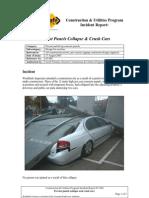 Precast Panels Collapse Crush Cars