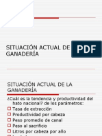 3.- SITUACIÓN ACTUAL DE LA GANADERÍA