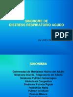 SDRA (sindrome de distres respiratorio agudo)  UNPRG