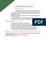 10a- Negligent Misstatement (Pink)