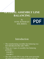22d2optimal Assembly Line Balancing 222