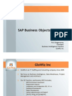 SAP Business Objects Security