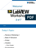 LabVIEW Proficiency Workshop 2