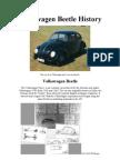 The Best Visual Volkswagen Beetle History
