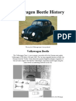 The Best Visual Volkswagen Beetle History