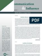 Communication&Influence Septembre2011