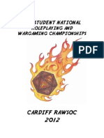 Student Nationals Info Pack 2012