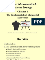Baye CH01 - The Fundamentals of Managerial Economics