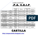 propuesta actividades
