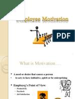 Employee Motivation Ppt