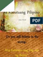 Sa Kabataang Pilipino (v2)