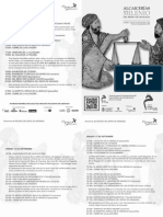 Programa de mano alcaicería Almería