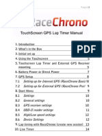 RaceChrono Touchscreen v1420 Full Manual