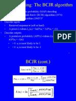 MAP decoding, BCJR algorithm