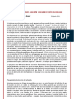 Ibn Asad - Tecnocracia Global y Destrucción Familiar (artículo 21-6-2011)