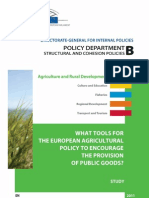 Agricultural and Rural Development