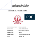 Che Course File