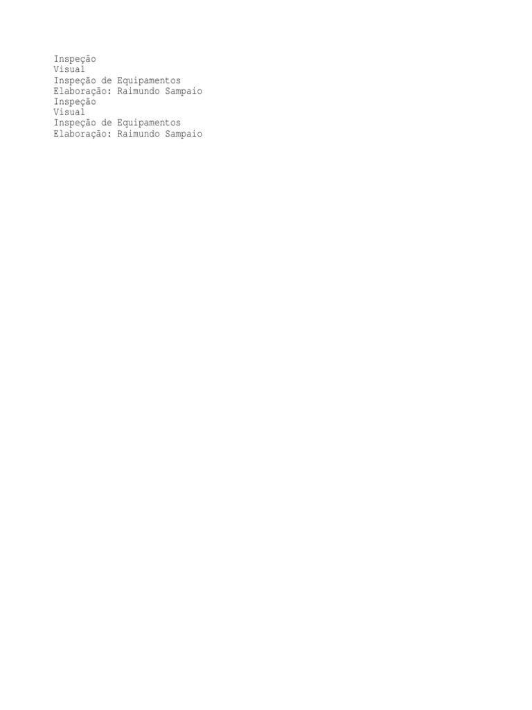 a496cdb6c9ea6 Apostila de Inspeção Visua