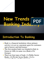 New Trends in Banking Industry
