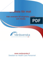Swedish Food Glossary