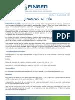 Finanzas al Día - 14.09.11