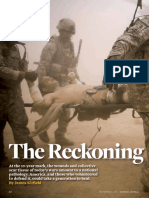 """The Reckoning,"" a National Journal article by James Kitfield"