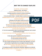 35 Self Dev Tips