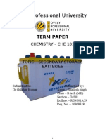 secondary storage battery