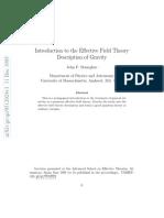 gravity field theory9512024v1