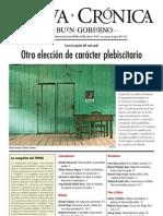 Nueva_Crónica_089 - Elecciones Judiciales de carácter plebiscitario