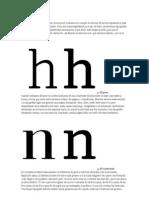 Seleccion de Tipografia Guia