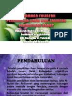 Falsafah Pendidikan Islam & Barat