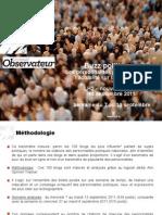 Buzz Politique - 14 Septembre 2011
