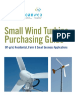 Small Wind Turbines Final