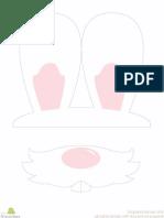 Bunny Photo Props
