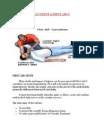 First Aid When Emergency