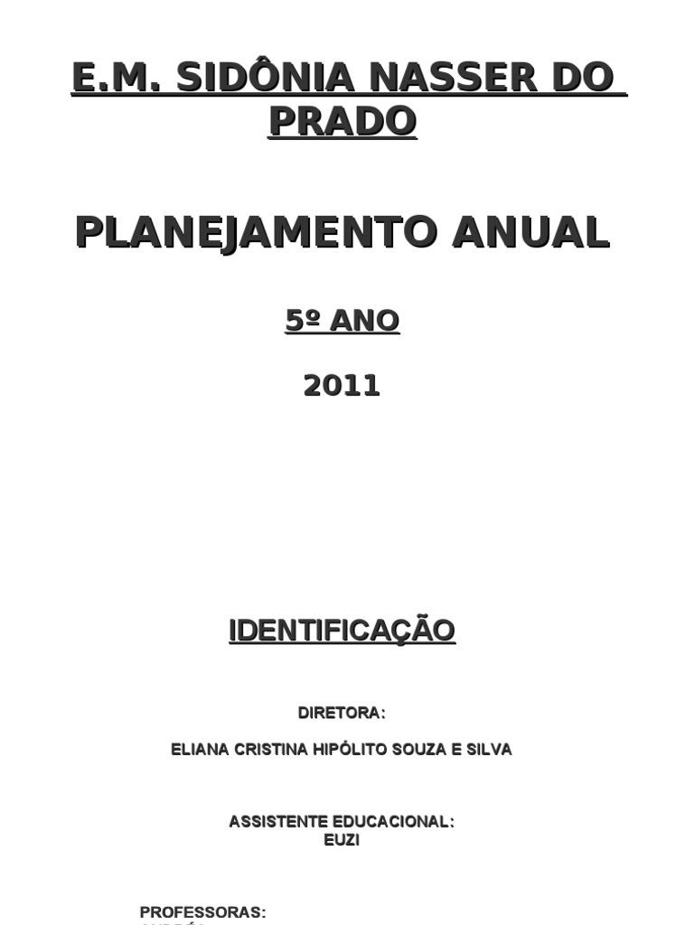 Famosos PLANO DE ENSINO 5º ANOS WE56