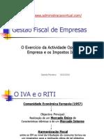 Atividade Operacional Impostos Indiretos