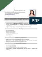 Resume Srijeeta Biswas