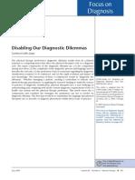 Disabling Our Diagnostic Dilemmas