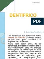 Dentifricos y Colutorios y Placa Bacteriana