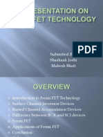 A Presentation on Fermi Fet Technology