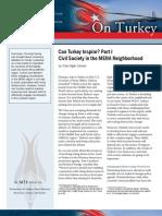 Can Turkey Inspire? Part I