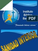 Sanidad Interior 1