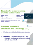110711 EIT Education for Creativity Entrepreneurship and Innovation Final