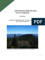 Catskill High Elevation Forest Continuum