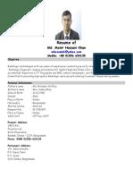 Resume of Monir