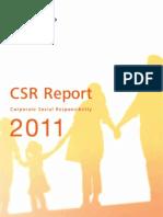 Reporte de sostenibilidad de Toshiva 2011
