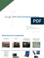 Taller Cloud Gobierno Google Nov 2010